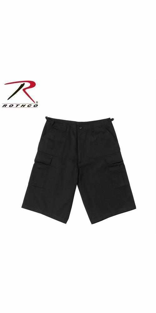 best-Rothco Long Length BDU Short-Black-4XL-
