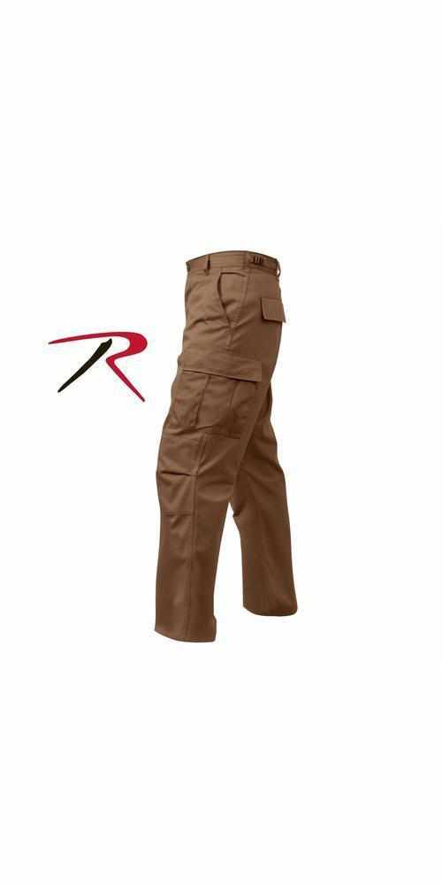 "best-Rothco Tactical BDU Pants-Brown-S (27""-31"" Waist)-"