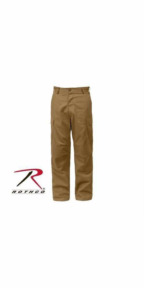 "best-Rothco Tactical BDU Pants-Coyote Brown-3XL (47""-51"" Waist)-"