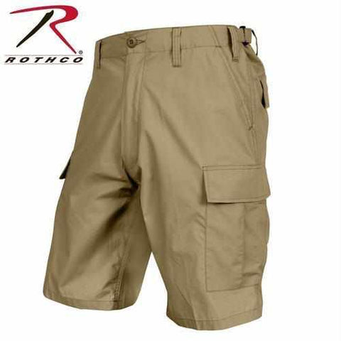 best-Rothco Lightweight Tactical BDU Shorts-Khaki-S-