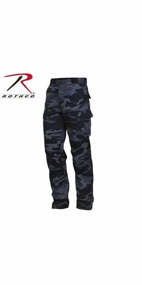 best-Rothco Color Camo Tactical BDU Pant-Midnight Blue Camo-2XL-