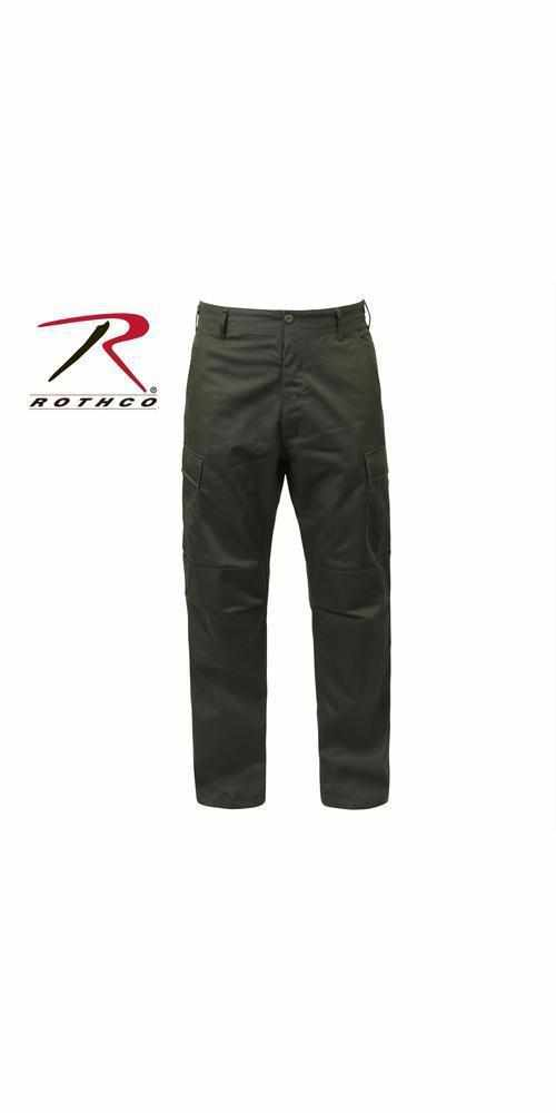 "best-Rothco Tactical BDU Pants-Olive Drab-3XL (47""-51"" Waist)-"