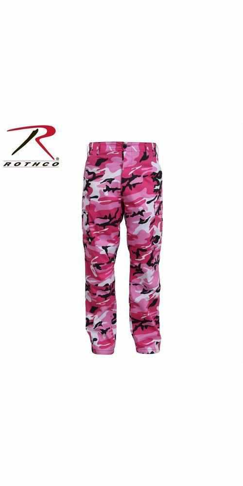 best-Rothco Color Camo Tactical BDU Pant-Pink Camo-2XL-