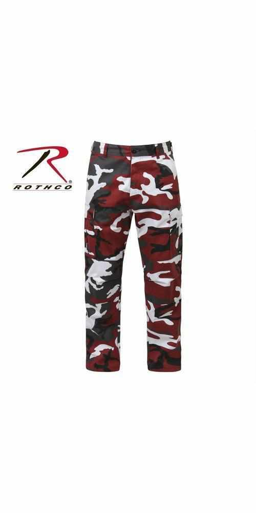 best-Rothco Color Camo Tactical BDU Pant-Red Camo-XS-