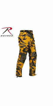 best-Rothco Color Camo Tactical BDU Pant-Stinger Yellow Camo-XS-