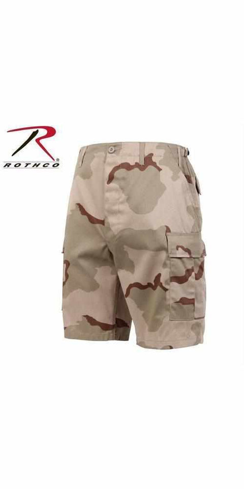 best-Rothco Camo BDU Shorts-Tri-Color Desert Camo-2XL-