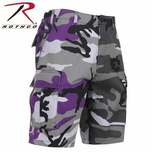 best-Rothco Two-Tone Camo BDU Short-Ultra Violet Purple / City Camo-2XL-