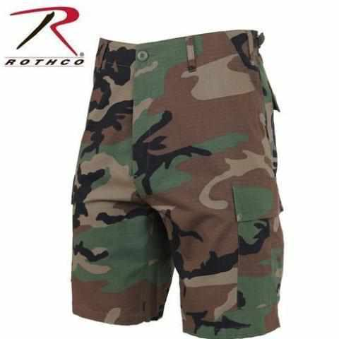 Rip-Stop Tactical BDU Shorts