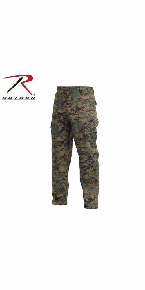 best-Rothco Army Combat Uniform Pants-Woodland Digital Camo-2XL-