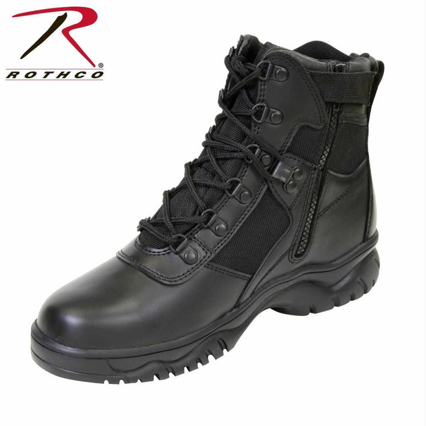best Rothco 6 Inch Blood Pathogen Resistant & Waterproof Tactical Boot 6