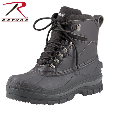 "best Rothco 8"" Cold Weather Hiking Boots Black 12"