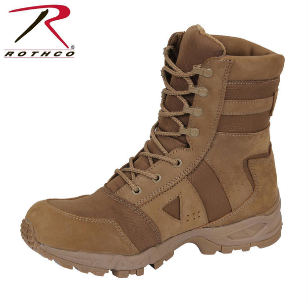 best Rothco AR 670-1 Coyote Forced Entry Tactical Boot 6.5