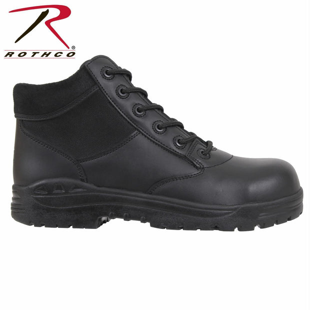 "best Rothco Forced Entry 6"" Composite Toe Tactical Boots Black 5"