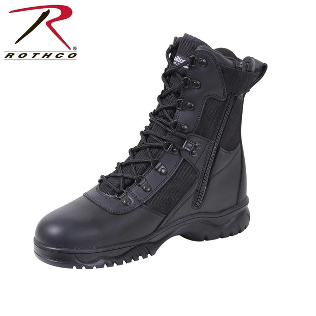 best Rothco Insulated 8 Inch Side Zip Tactical Boot 10.5