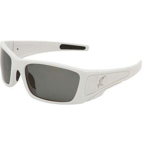best tactical and police Vicious Vision Vengeance White Pro Series Sunglasses-Gray