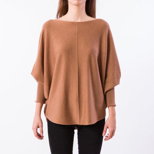 Ryu Lin Sweater Dark Camel
