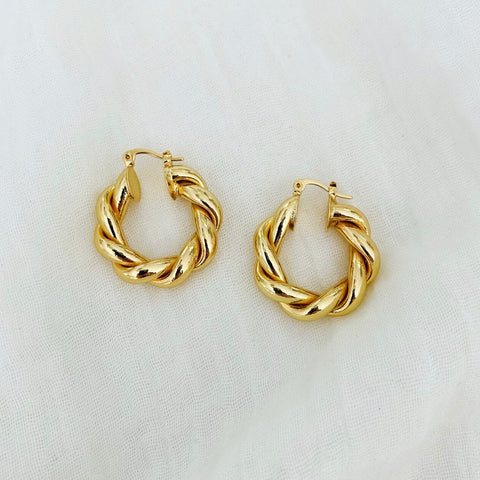 XL French Twist Hoops