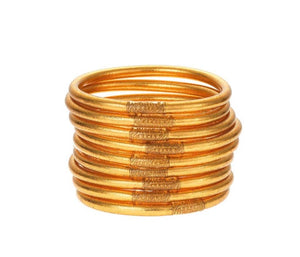 All Weather Bangles Gold