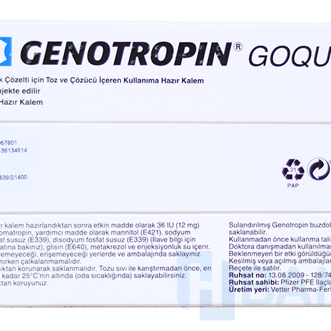 Genotropin how many IU? How many IU in HGH from Pfizer, Genotropin cartridges
