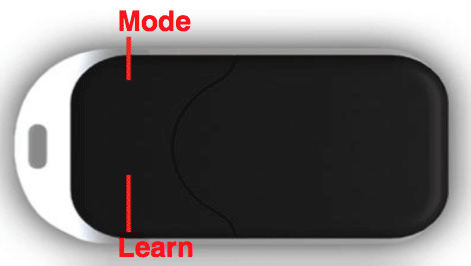 Mode and Learn Buttons