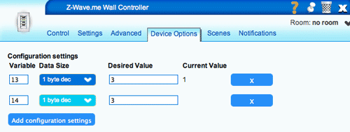 Setting Configurations in VERA