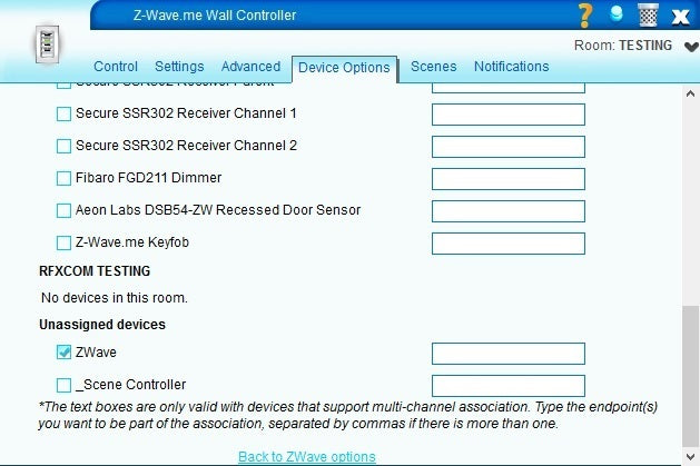 Configuring Z-Wave.me Wall Controller BJ 2000 for Advanced Scene control in VERA