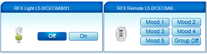 Using a LightwaveRF Door Chime With Vera & the RFXtrx433