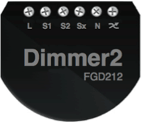 Fibaro Dimmer2 Connections