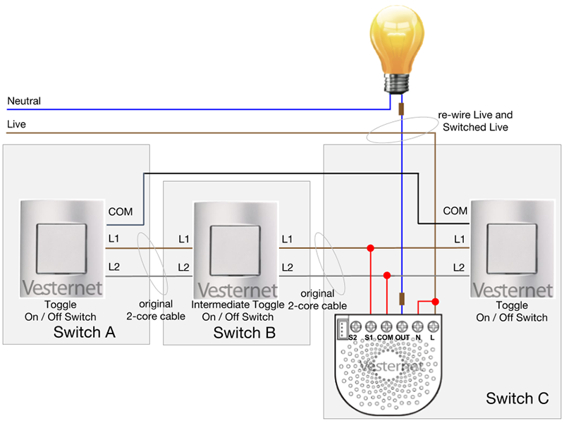 3 Way Momentary Toggle Switch Wire Diagram
