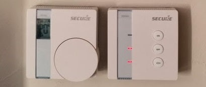 Central Heating Control - Secure Wall Thermostat & Receiver Set
