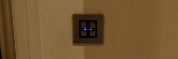 Lighting Control - LightwaveRF 2 Gang Dimmer