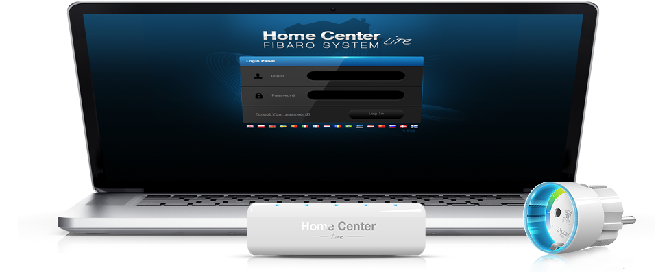 Fibaro Home Center Lite Interface