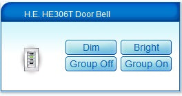 Home Easy HE306 Doorbell compatible with RFXtrx433 and Vera