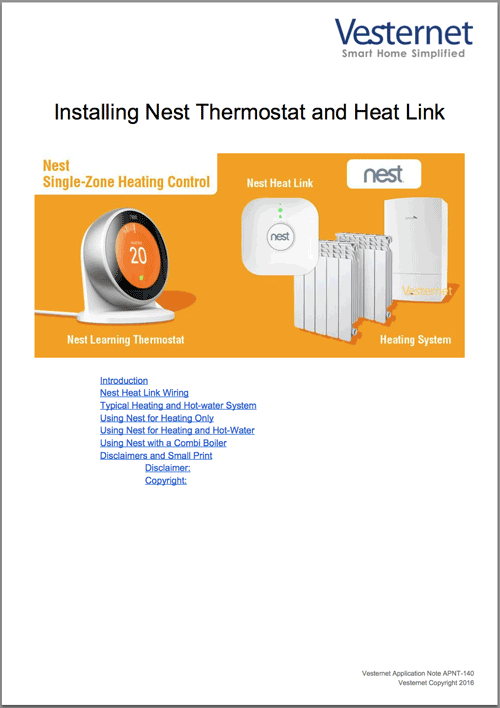 APNT-140 Installing Nest Thermostat and Heat Link