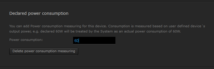 HC Power Consumption