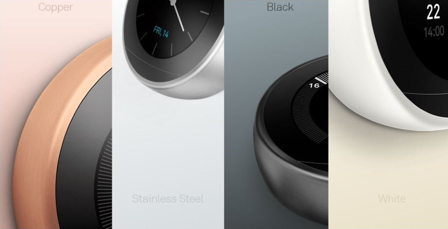 Nest Thermostat Colours