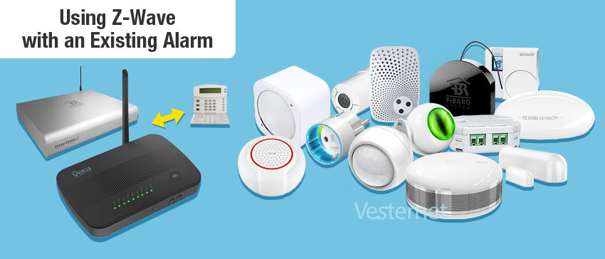Using Z-Wave with an existing Alarm System