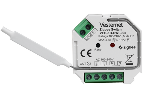 VES-ZB-SWI-005 2-Wire Capable Switch