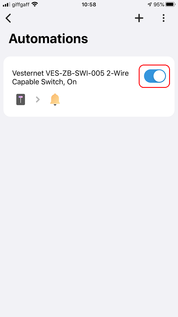 VES-ZB-SWI-005 2-Wire Capable Switch In SmartThings | Vesternet