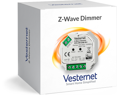 Vesternet Z-Wave 2-Wire Capable Dimmer (VES-ZW-DIM-001)