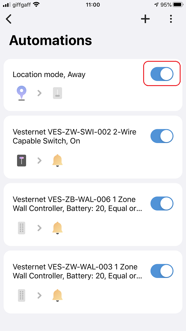 VES-ZW-SWI-002 2-Wire Capable Switch In SmartThings | Vesternet