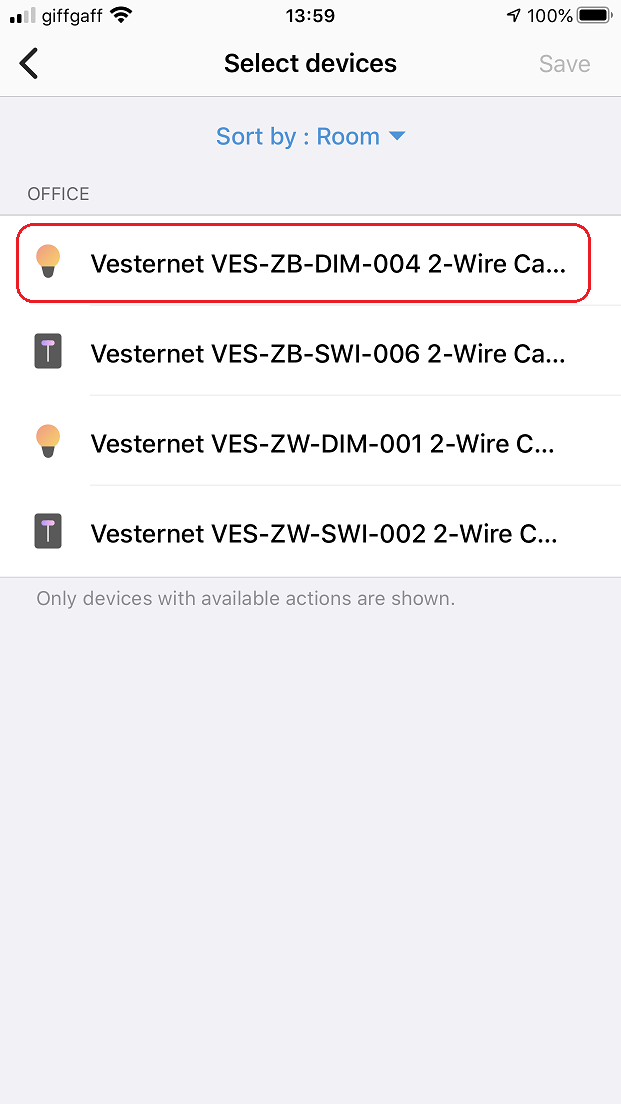 Vesternet VES-ZW-WAL-003 1 Zone Wall Controller In SmartThings | Vesternet