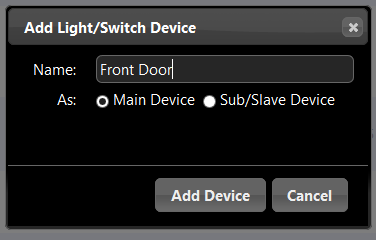 Add RF devices to Domoticz