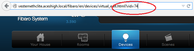 Adding a Global Variable to Fibaro Home Center