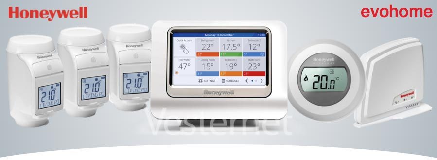 Honeywell Get Connected Heating Control - Vesternet