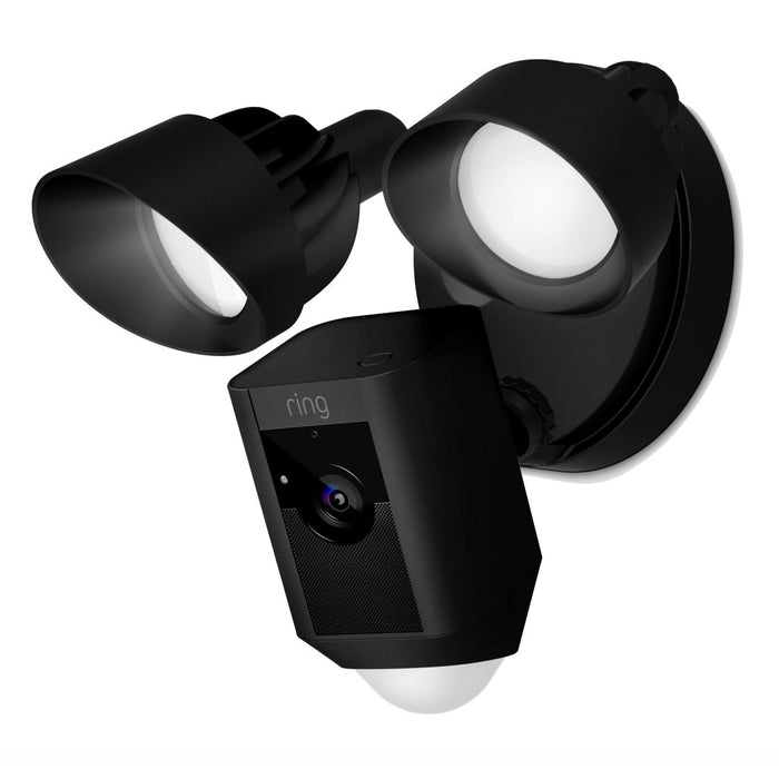 Ring Floodlight Cam Migration_Cameras Ring Black