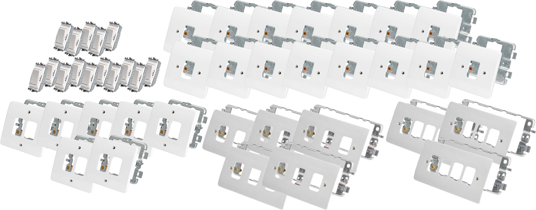Momentary Switch Kit - 15 Pack