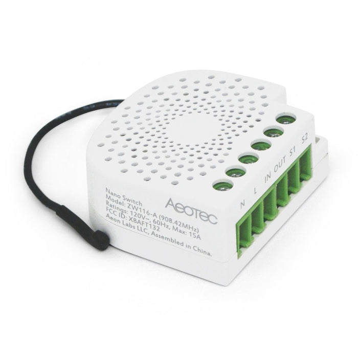 Z-Wave Plus Aeotec Nano Switch On/Off Controller with Power Metering Migration_Default Aeotec