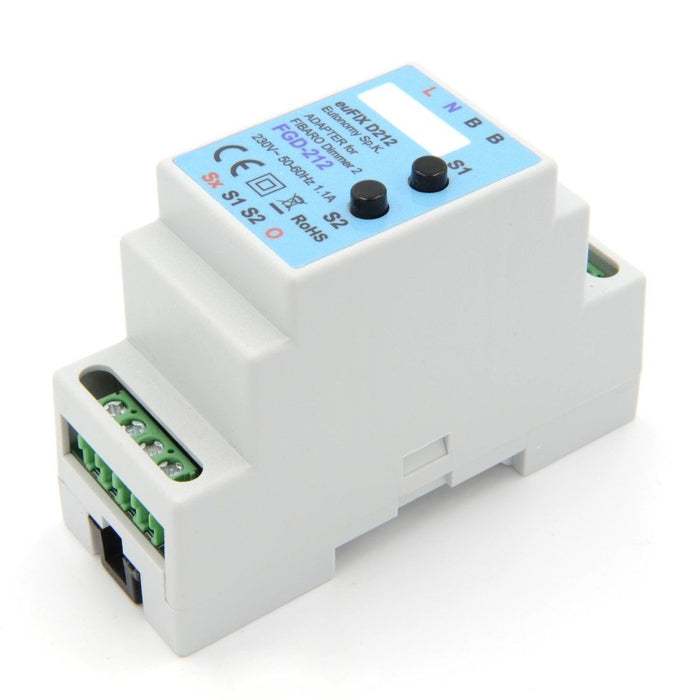 Eutonomy euFIX Adapter DIN for Fibaro Dimmer 2 (with Push-Buttons) Migration_Modules Eutonomy