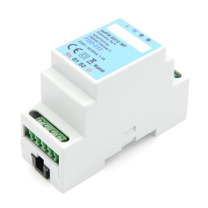 Eutonomy euFIX Adapter DIN for Fibaro Dimmer 2 Migration_Modules Eutonomy